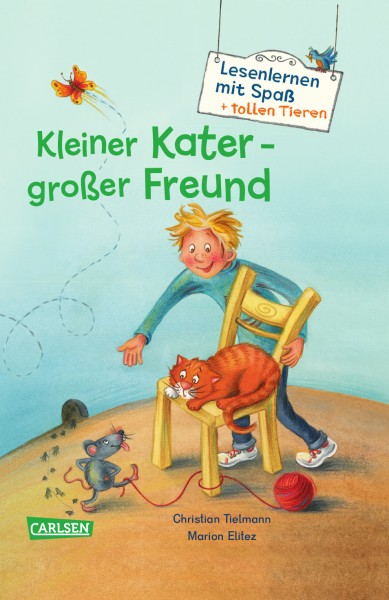 Kleiner Kater - großer Freund (Lesenlernen mit Spaß + tollen Tieren 2)