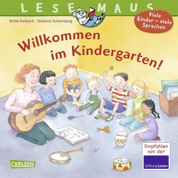 LESEMAUS 126: Willkommen im Kindergarten!