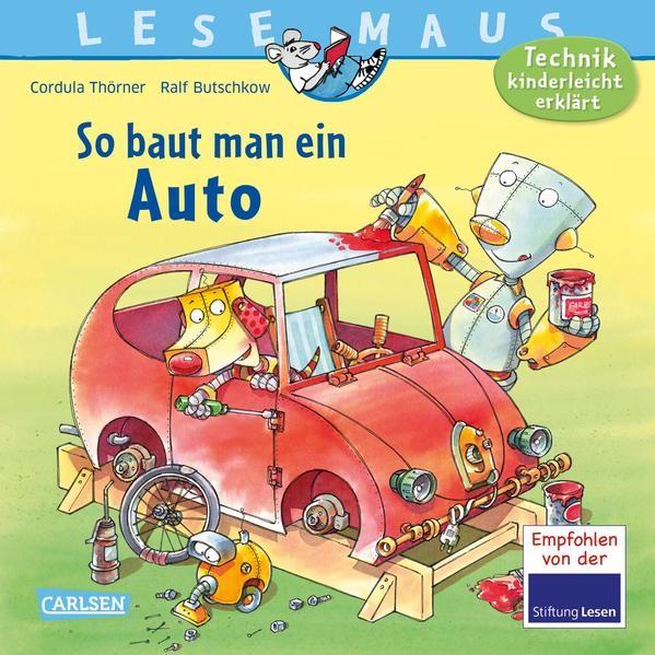 LESEMAUS 140: So baut man ein Auto