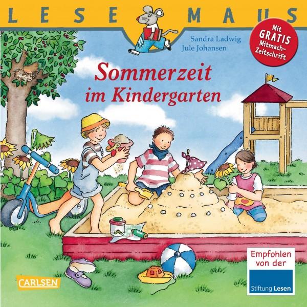 LESEMAUS 11: Sommerzeit im Kindergarten