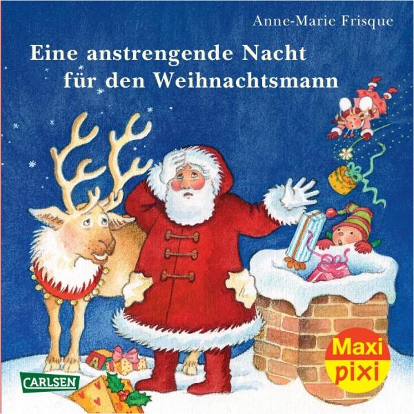 Maxi-Pixi Nr. 144: Eine anstrengende Nacht für den Weihnachtsmann