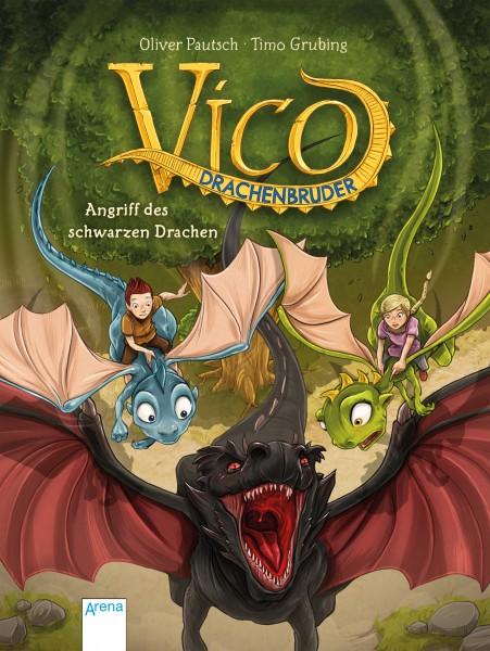 Vico Drachenbruder (2) - Angriff des schwarzen Drachen