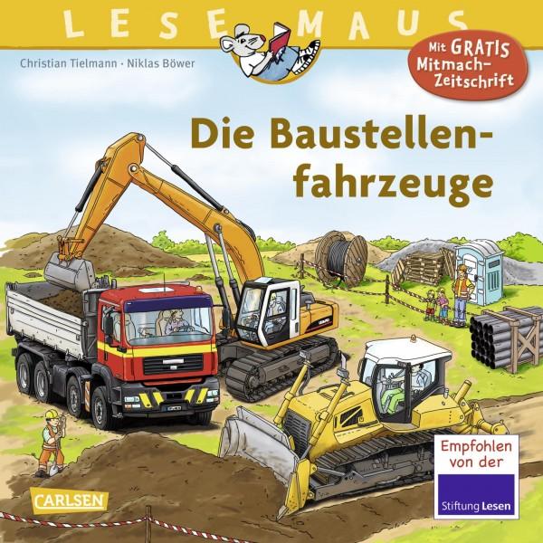 LESEMAUS 157: Die Baustellenfahrzeuge