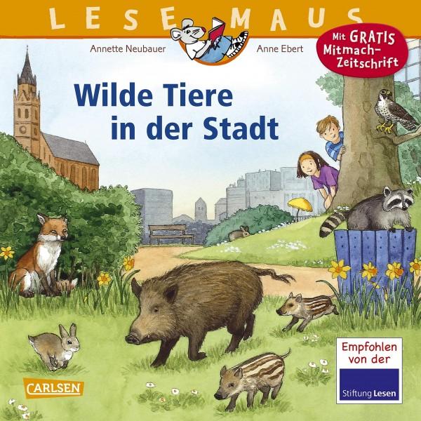 LESEMAUS 19: Wilde Tiere in der Stadt