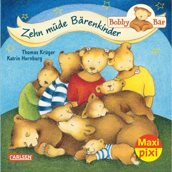 Maxi Pixi 182: Bobby Bär: Zehn müde Bärenkinder