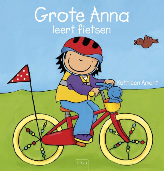 Grote Anna leert fietsen