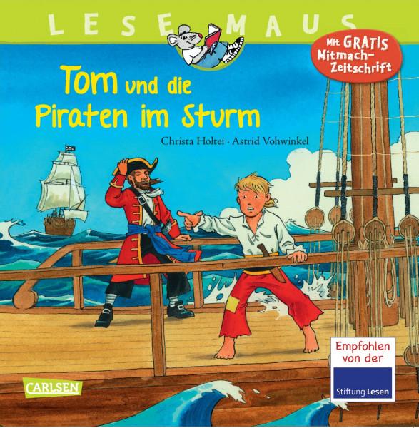 Tom und die Piraten im Sturm