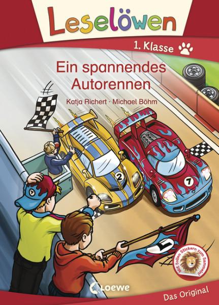 Leselöwen 1. Klasse - Ein spannendes Autorennen