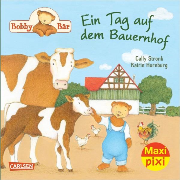 Maxi Pixi 185: Bobby Bär: Ein Tag auf dem Bauernhof