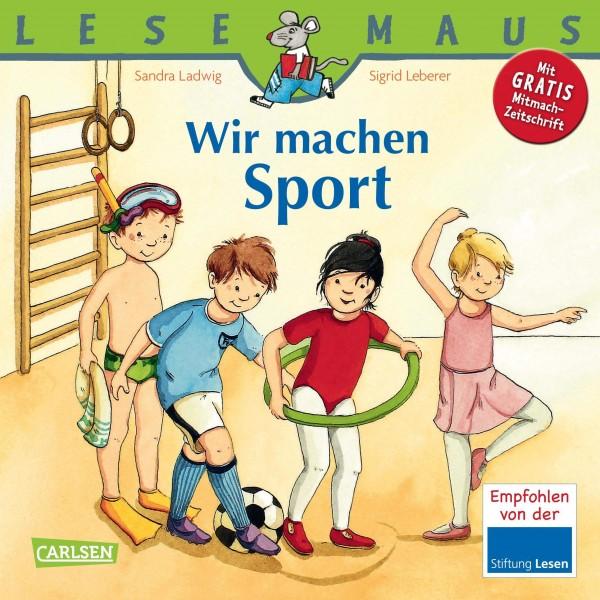 LESEMAUS 39: Wir machen Sport