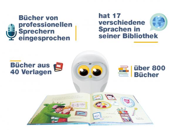 Luka® – Der Lesetrainer und Vorlese-Freund für Kinder