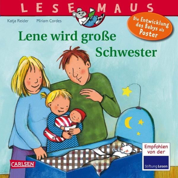 LESEMAUS 74: Lene wird große Schwester