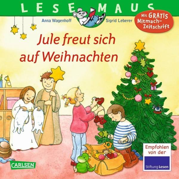 LESEMAUS 161: Jule freut sich auf Weihnachten
