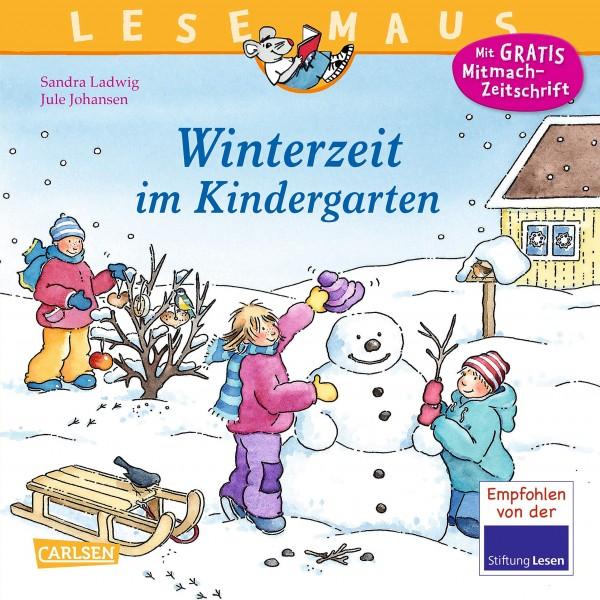 LESEMAUS 8: Winterzeit im Kindergarten