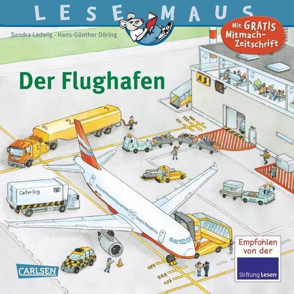 LESEMAUS 160: Der Flughafen